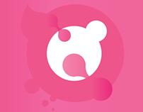 Pink Circle Design Prectice