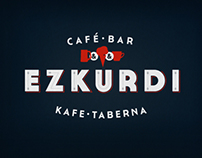 Ezkurdi café-bar / Identity and menu