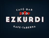 Ezkurdi café-bar / Identity and menu