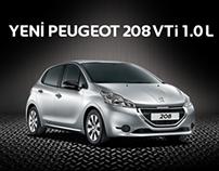 Web Banner - Peugeot 208VTi