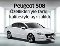 Web Banner - Peugeot 508