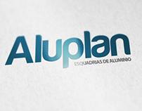 Aluplan - logomarca