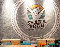 SHAKA BRAH / Interior Mural Decor