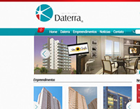 Site Institucional Construtora Daterra