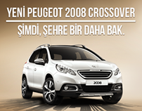 Web Banner - Peugeot New 2008 Crossover