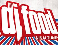DJ food poster