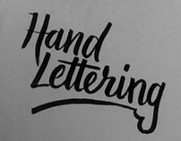 Hand Lettering Collection - 2013