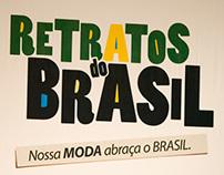 Logo Retratos do Brasil e convenção