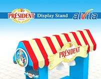 PRESIDENT alvita  -  Display Stand