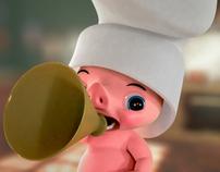 Aldo Le Pti Chef Cochon