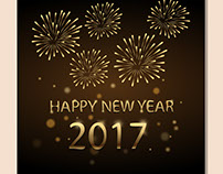 new year vector graphic