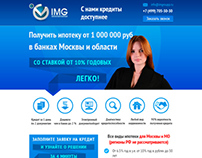 Landing page of imgroupp.ru