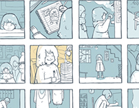 I Hate Winter: Hourly comic