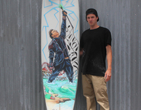 James Durbin Surfboard Project