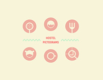 Hostel Pictograms