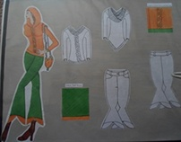 Hand Drawn Designs and Flats