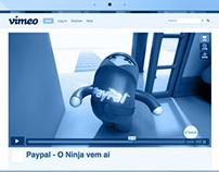 Screenplay and Storyboard Ninja Paypal // Paypal Brazil