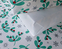 Holly Jolly Wrapping Paper