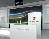 Porsche exhibition stand