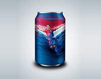 MESSI X PEPSI CAN (UNUSED)
