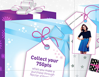 Nectar – Christmas 2013 eShops campaign