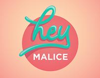 Hey Malice Logo