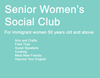 Senior Women's Group poster