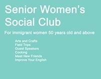 Senior Women's Group poster