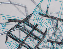 Stitched Architectural Drawing