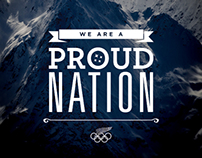 NZOC - Sochi Winter Olympics Collateral