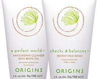 Origins package and logo design