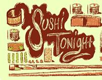Sushi Tonight Ecard