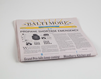 Baltimore Sun Redesign