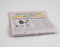 Baltimore Sun Redesign