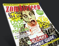 Spoof Publication Design    Zombieteen Magazine