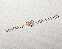Mindful Diamond - logo design and branding for jewelry