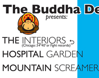 Small flier for the Buddha Den