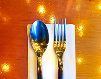 Left-Handed Table Setting | photography