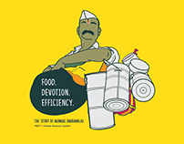 Information visualization : Mumbai Dabbawalas