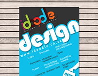 Flyer for design company