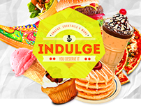 INDULGE® Website Concept