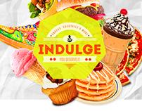 INDULGE® Website Concept