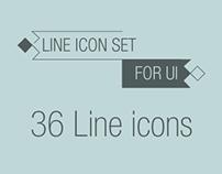 Line icon vol.1