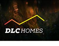 DLC Homes Logo Identity