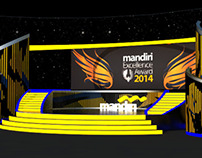 Mandiri Excellence Award Stage & Decoration