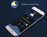 Weather concept app