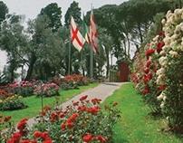 Genoa's historic rose garden