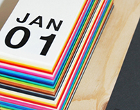 Fedrigoni Perpetual Desk Calendar