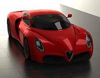 Alfa Romeo 33/2 concept