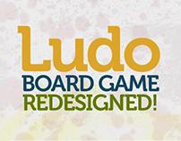 Ludo board game: redesigned.